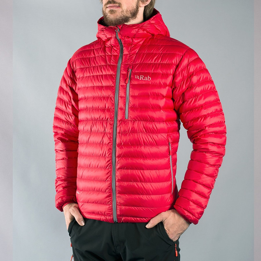 Men's Alpine Jacket, ricochet/shark