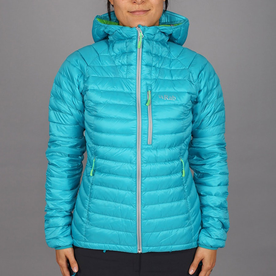 Women's Alpine Jacket, tasman/wasabi