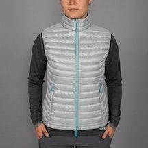 Women's Microlight Vest, gargoyle/sargasso