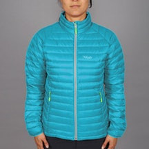Women's Microlight Jacket, tasman/wasabi