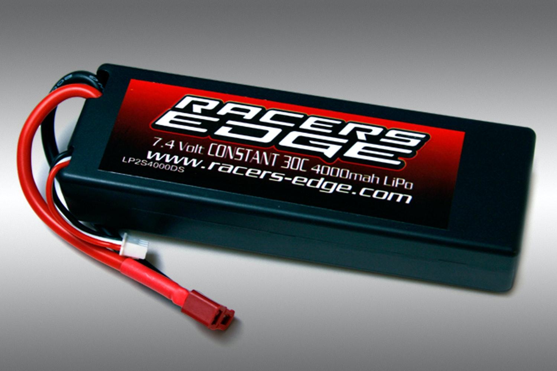 Racers Edge 7.4v 4000mah LiPo Bundle (2 Batteries)