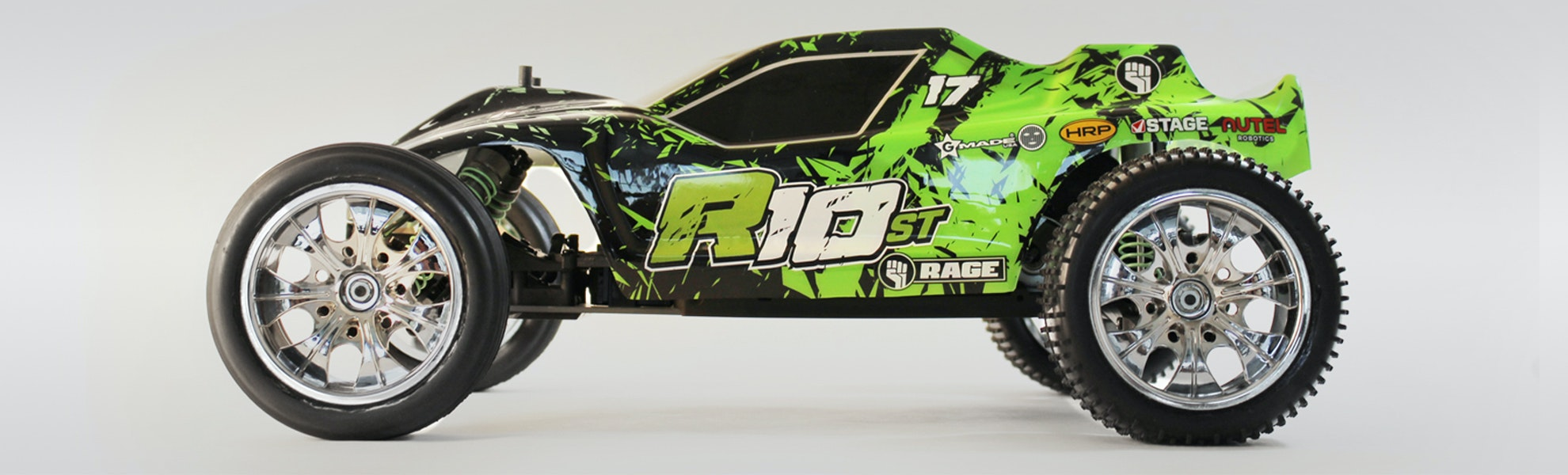 Rage R10ST 1/10 Brushless RTR Stadium Truck