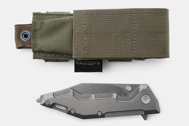 Raidops Centauro Titanium Frame Lock Folder