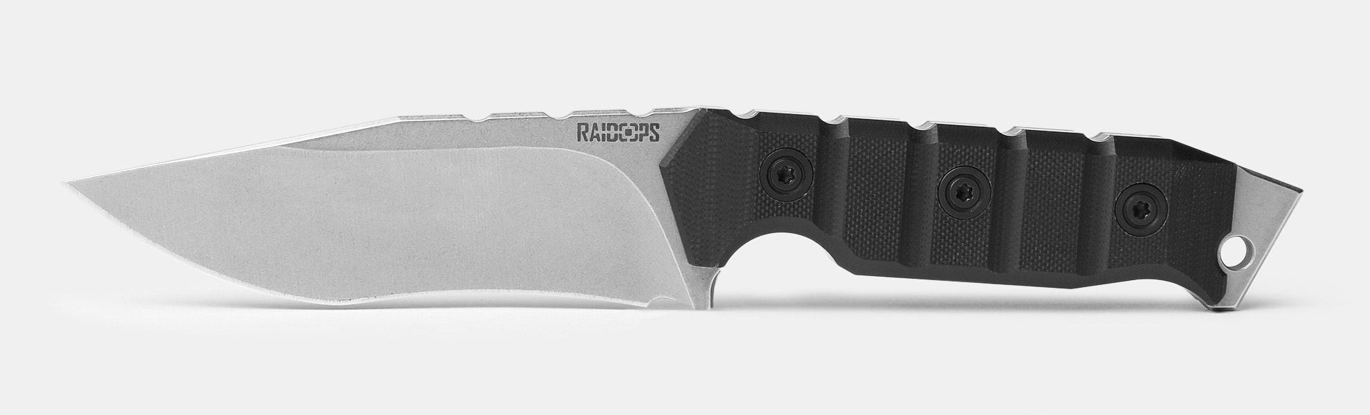 Raidops Soldier Spirit Fixed Blades