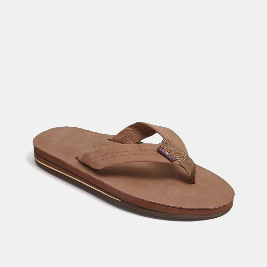 Rainbow Sandals Double-Layer Premier Leather