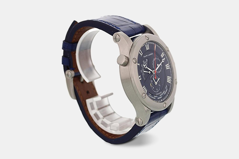Ralph Lauren Sporting World Time Automatic Watch
