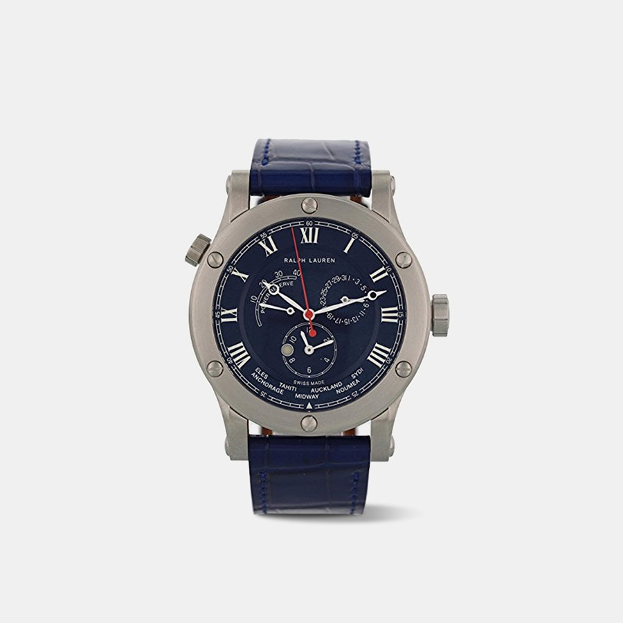 Ralph Lauren Sporting World Time Automatic Watch