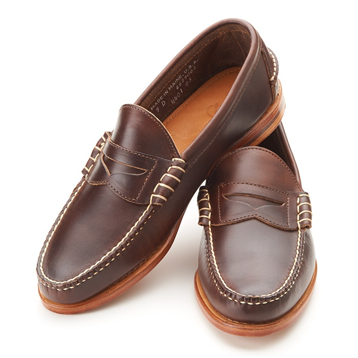 Rancourt & Company Beefroll Penny Loafers