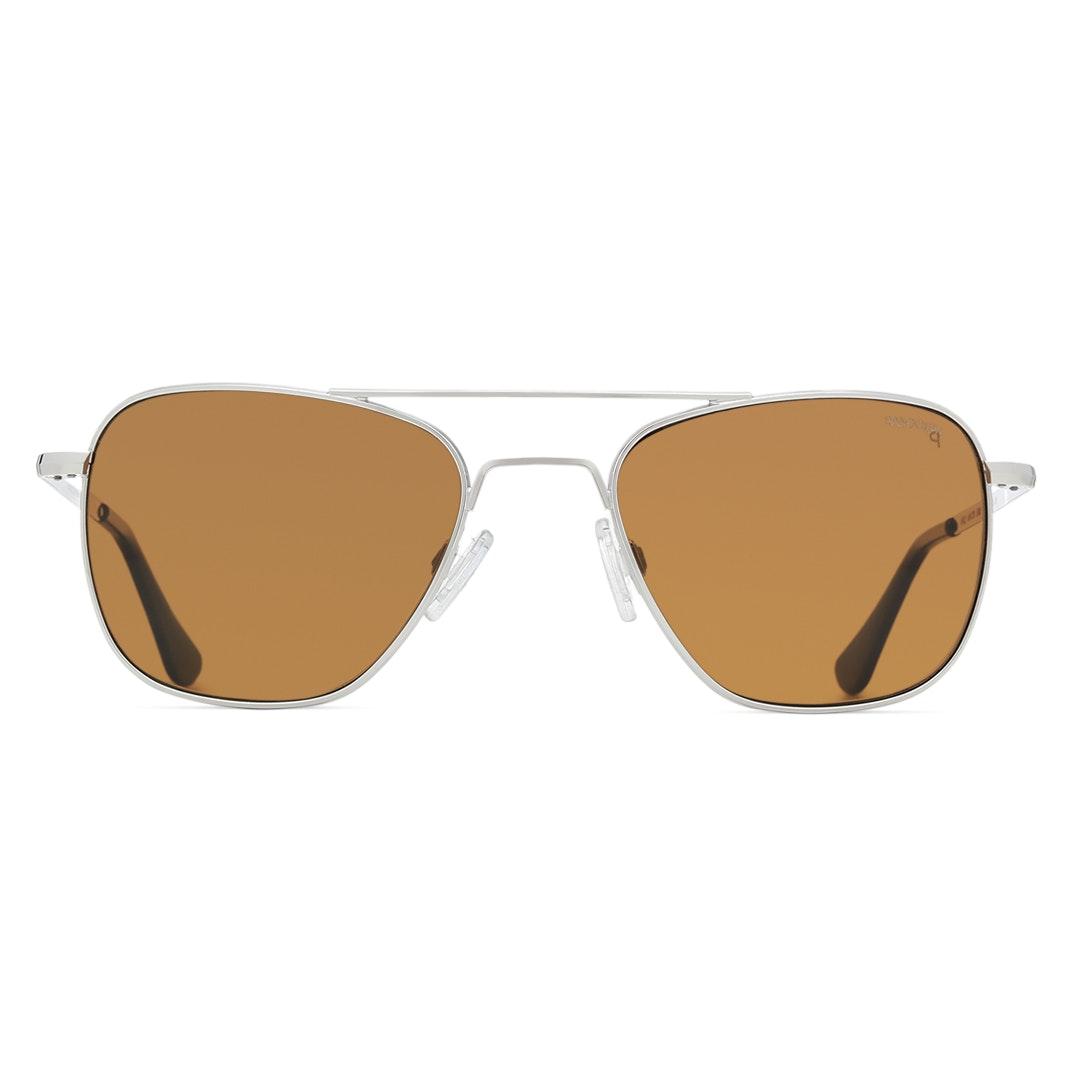 Randolph Aviator Skull Polarized Sunglasses