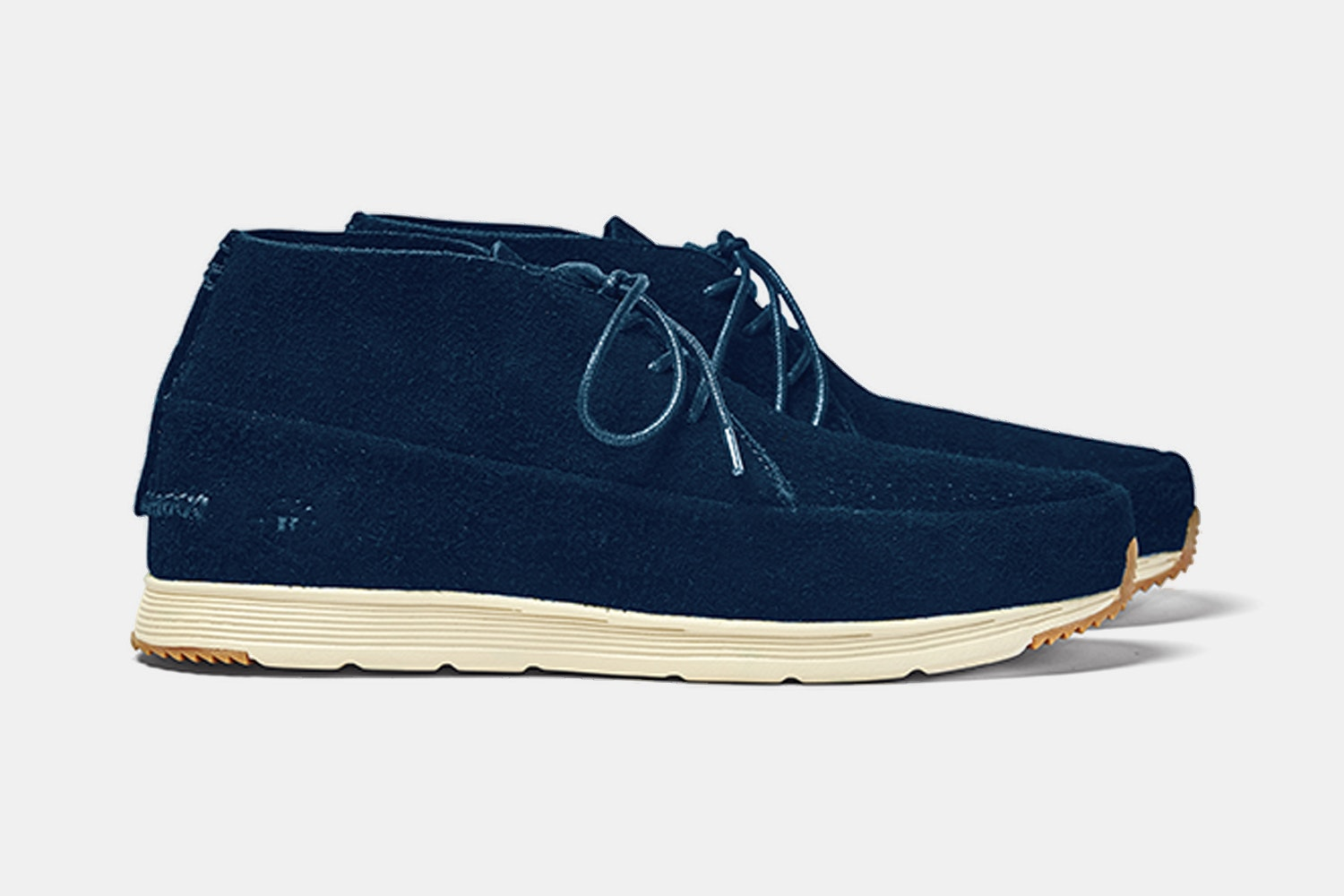 Navy/bone shoe