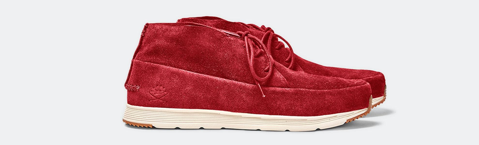 Ransom Holding Co. Alta Mid Chukka Sneakers