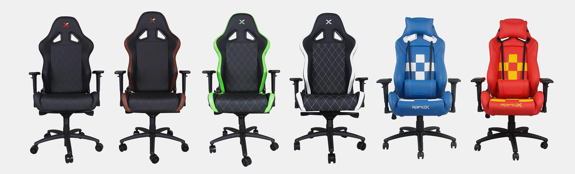 RapidX Ferrino & Finish Line Series Gaming Chairs