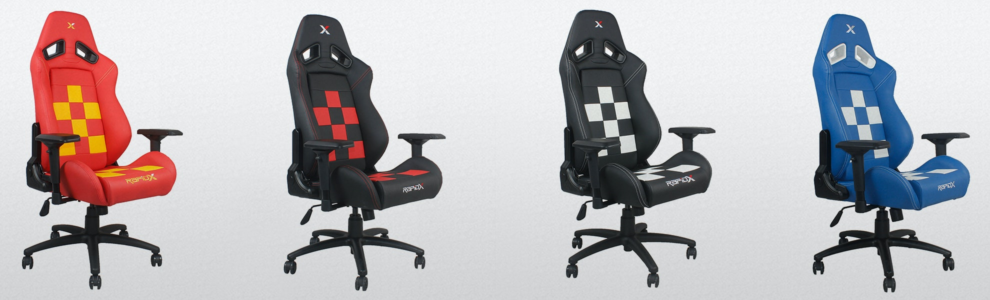 RapidX Finish Line Gaming Chair