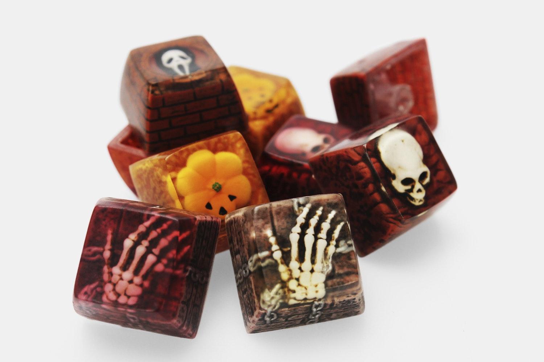 NPKC Resin Artisan Spookeycaps