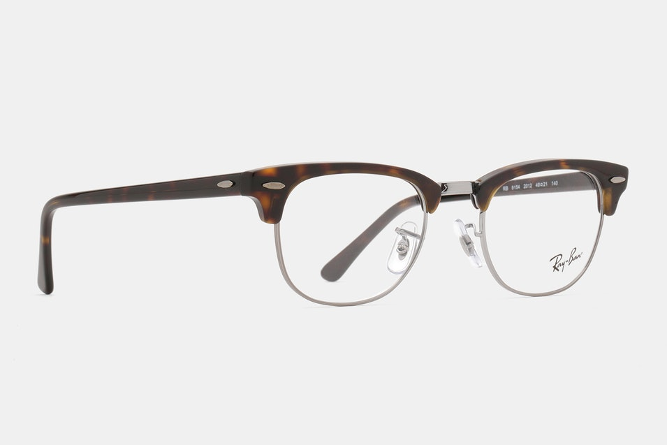 fe4a1e4a64 ... with a floating metal frame and a tortoise acetate brow bar and arms. They  come with demo lenses