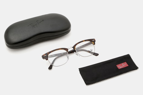 453f144789 Details. Ray-Ban  Floating frame  Tortoise acetate brow bar ...