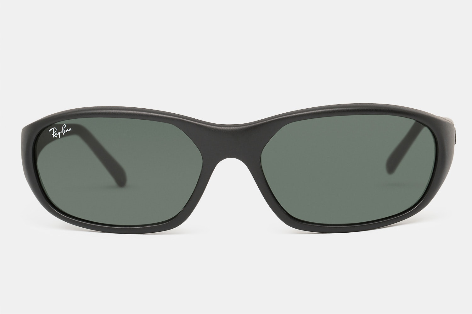 Matte Black with Green Lenses