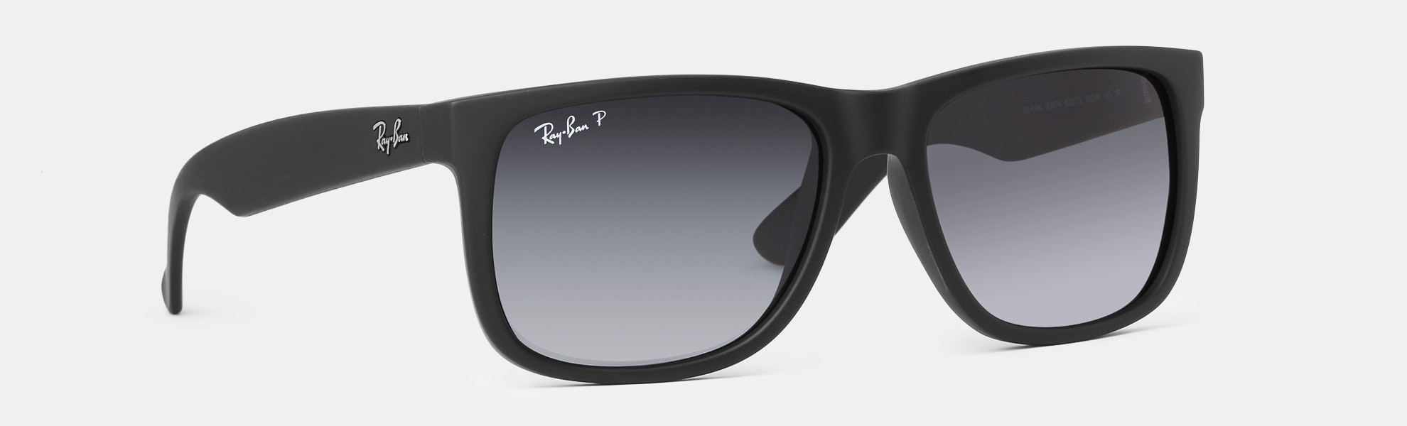 8707410773f ... where can i buy ray ban justin classic black polarized sunglasses 7ac19  c37bf
