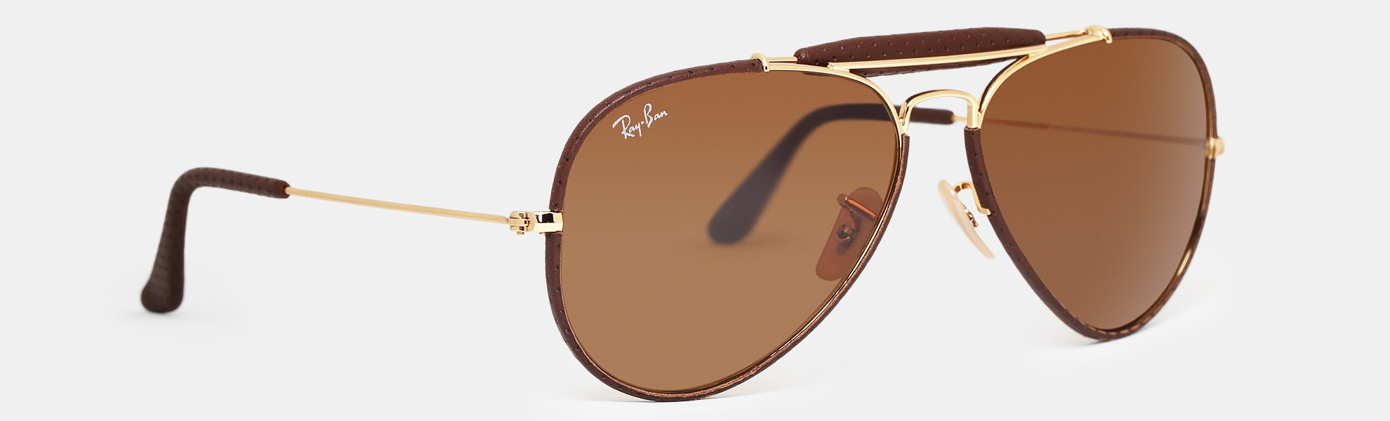 Ray-Ban Outdoorsman Craft Aviator Sunglasses