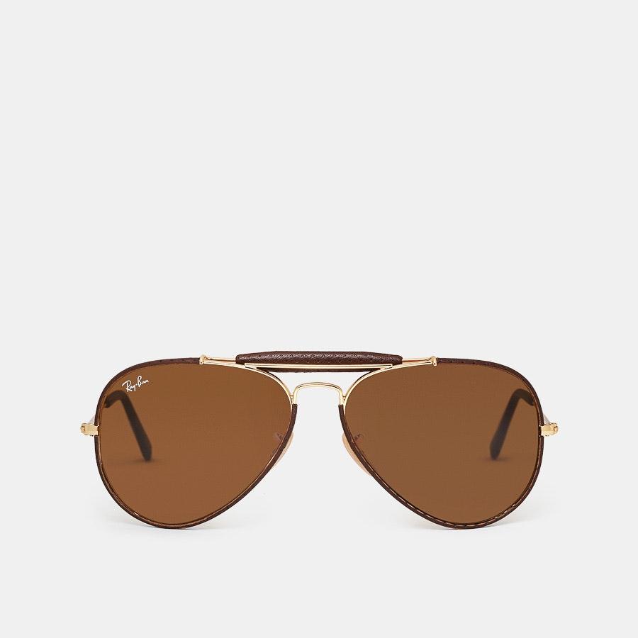 Ray-Ban Outdoorsman Craft Aviator Sunglasses