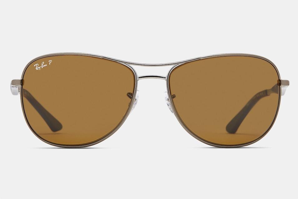 e0b3298e521 Color Options. Ray-Ban RB3519 Polarized Sunglasses