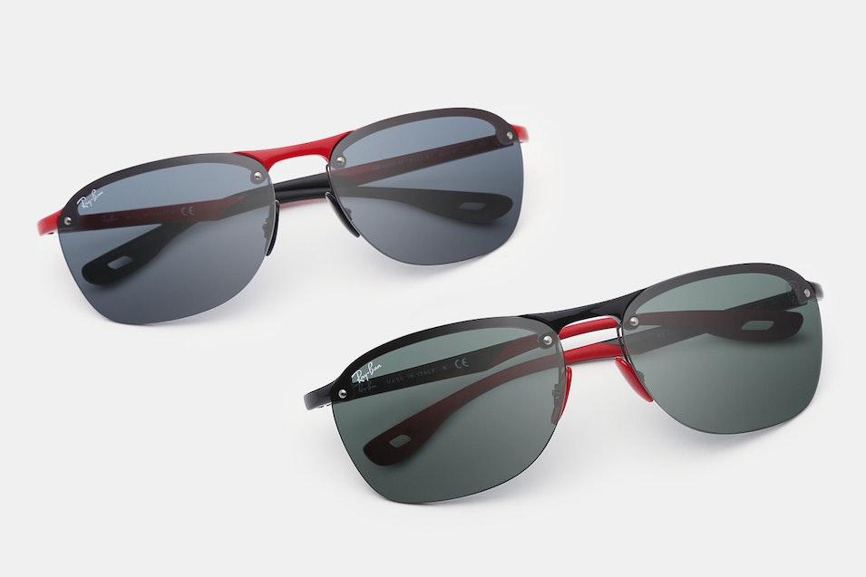 946a230d55a Ray-Ban RB4302 Scuderia Ferrari Sunglasses