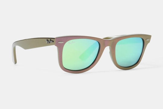 Pink Frame with green Flash Lenses