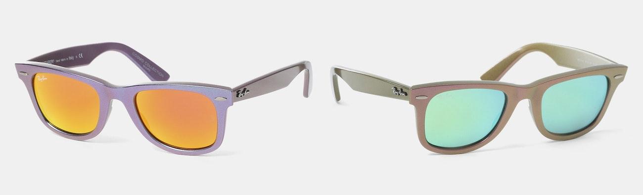 Ray-Ban Wayfarer Cosmo Sunglasses   Price   Reviews   Massdrop 21179029c149