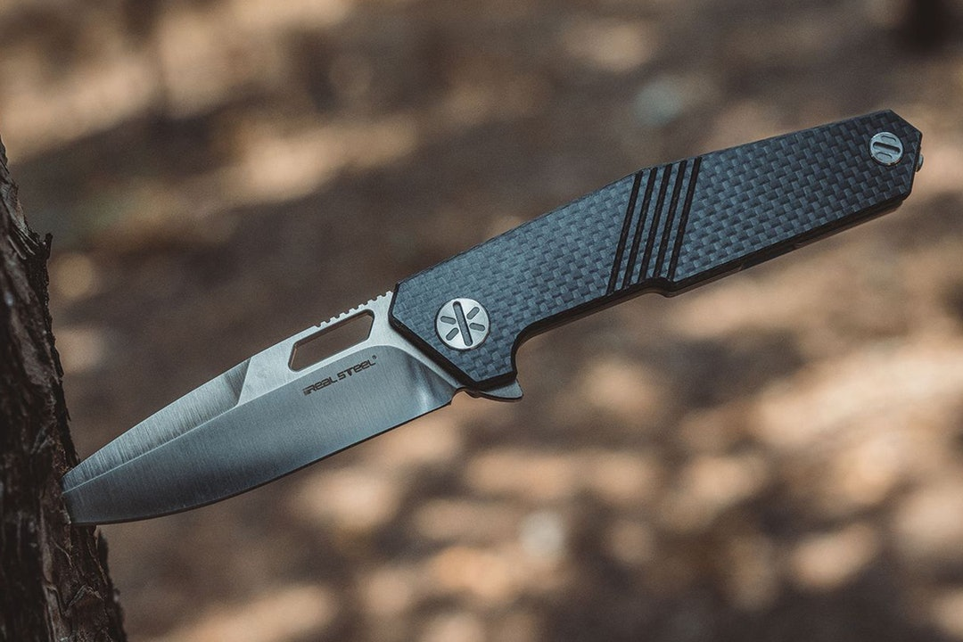 Real Steel Havran S35VN Frame Lock Knife