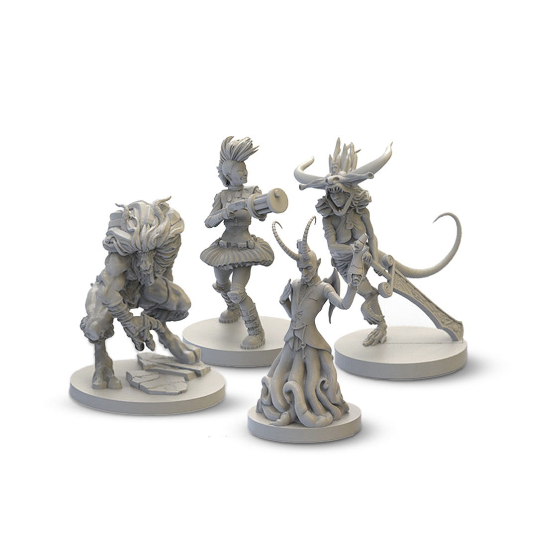 Reckless Deck Resin Miniatures
