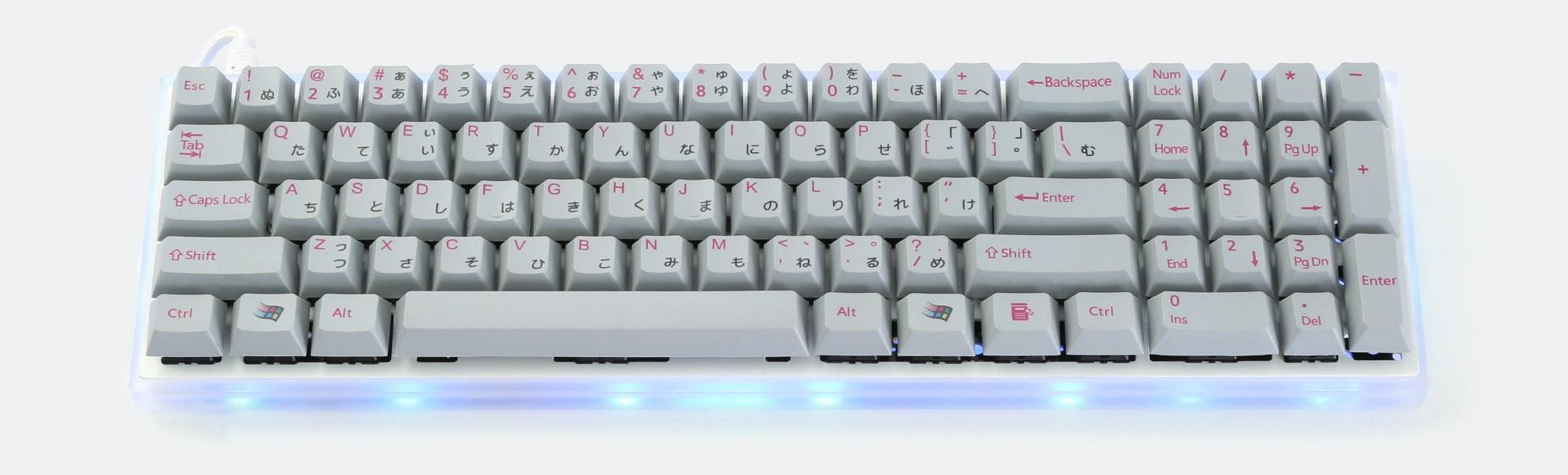 Red Scarf II+ Ver. D Custom Mechanical Keyboard Kit