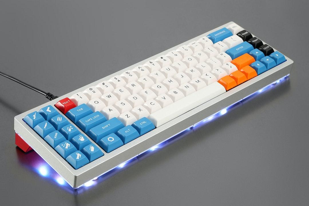 Red Scarf II+ Ver.b Custom Mechanical Keyboard Kit