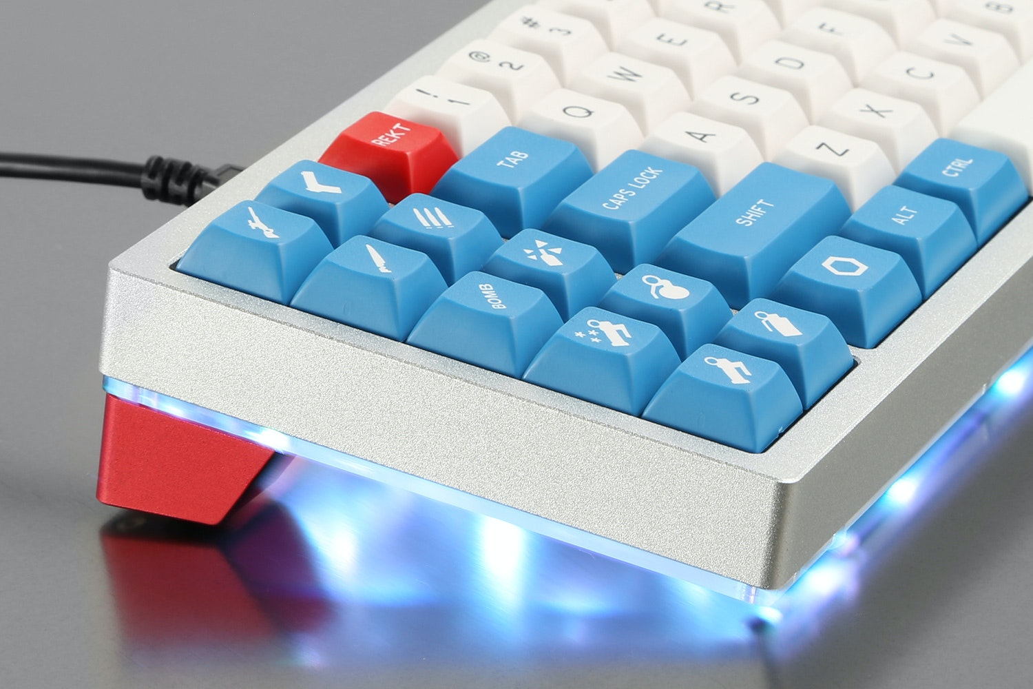 Red Scarf II+ Ver.b Custom Mechanical Keyboard Kit