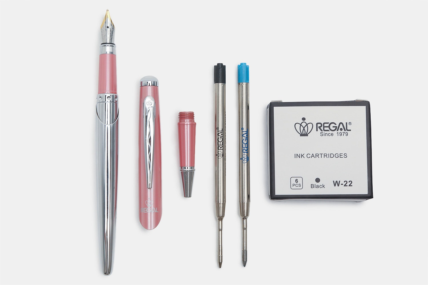 Three-in-one Pen in French Rose