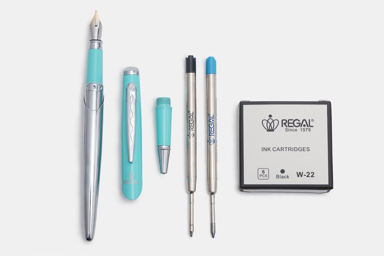Three-in-one Pen in Turqoise
