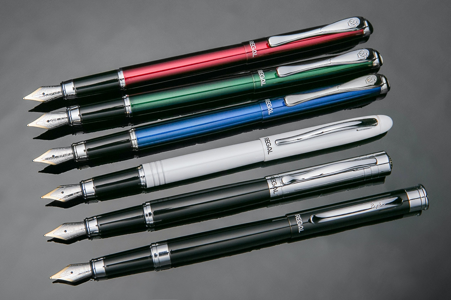 Entry-Level Regal Fountain Pens (2-Pack)