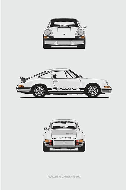 1973 Porsche 911 2.7rs