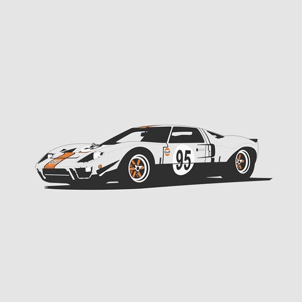 Ford GT40 Artprint