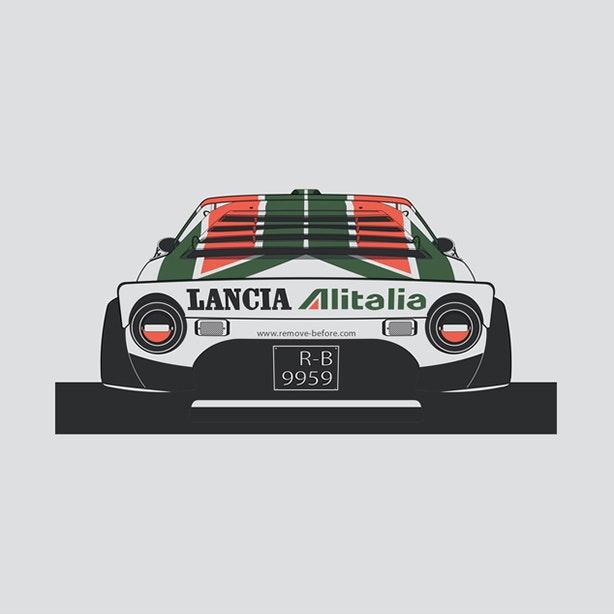 Lancia Stratos Artprint