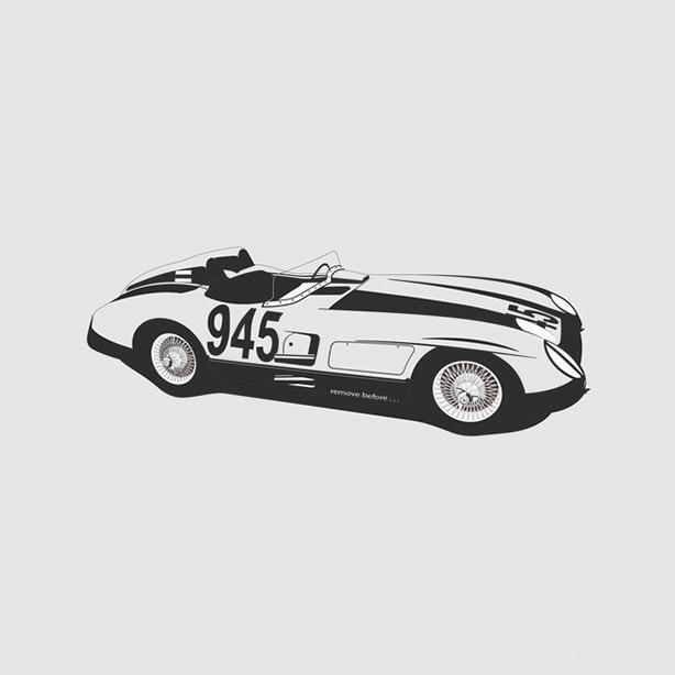 Mercedes SLR 300 Artprint
