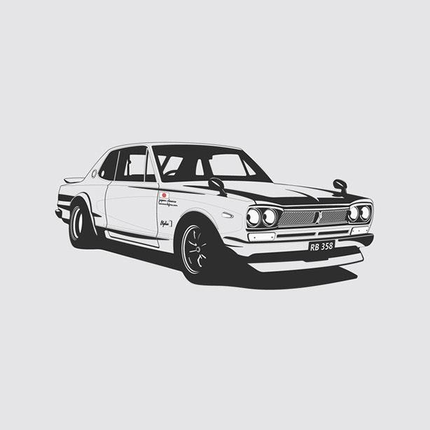 Nissan KPGC10 Artprint