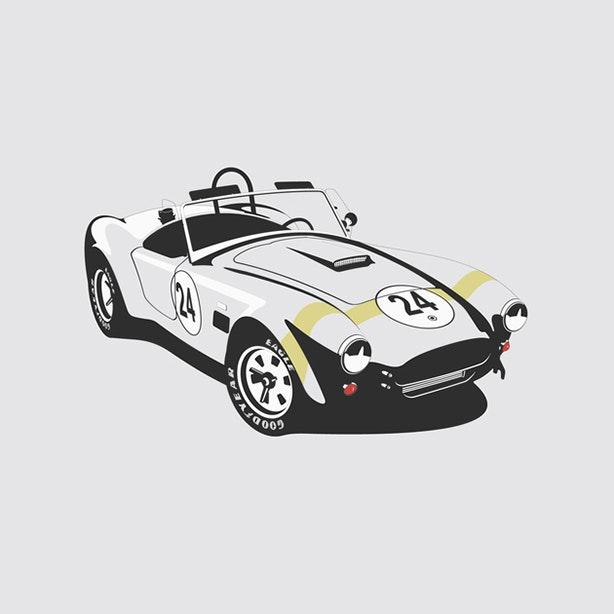 Shelby Cobra Artprint