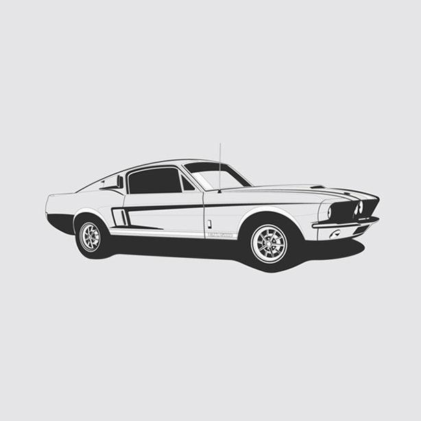 Shelby GT 500 Artprint