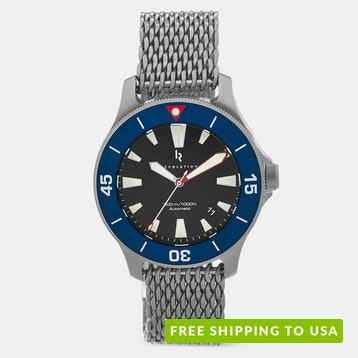 """Revolution Watch Co. """"The Diver"""" Automatic Watch"""