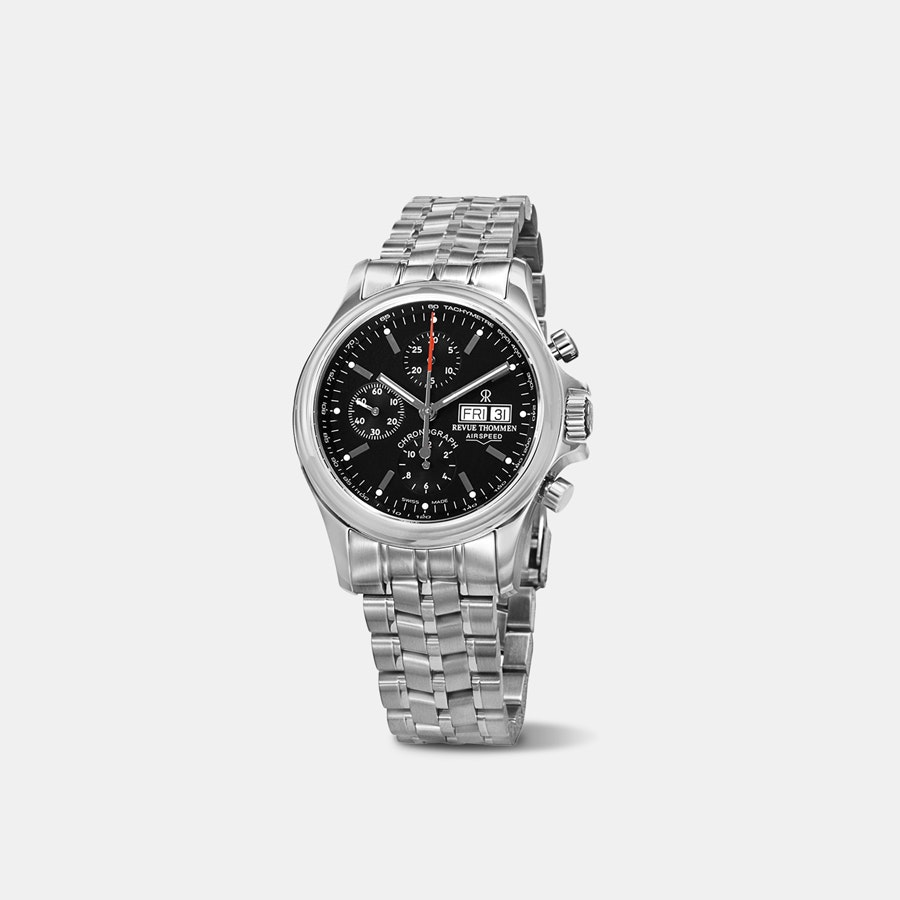Revue Thommen Airspeed Day Date Automatic Watch