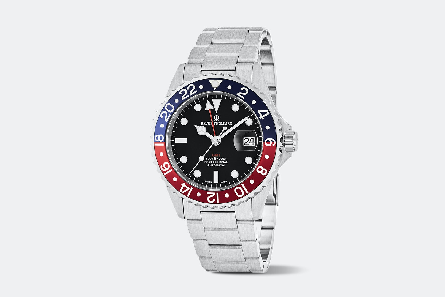 Revue Thommen Diver GMT Automatic Watch