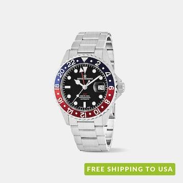 Revue Thommen Diver GMT Automatic Watch