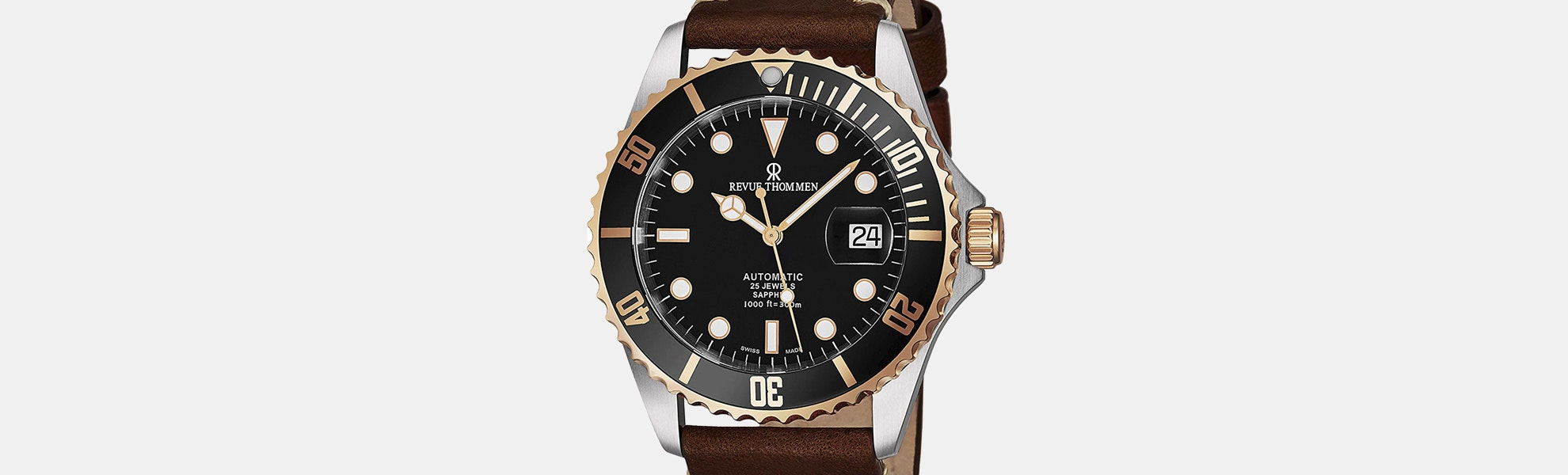Revue Thommen XL Diver Automatic Watch