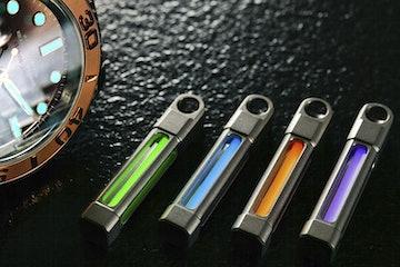 ReyLight Titanium Keyfob Necklace