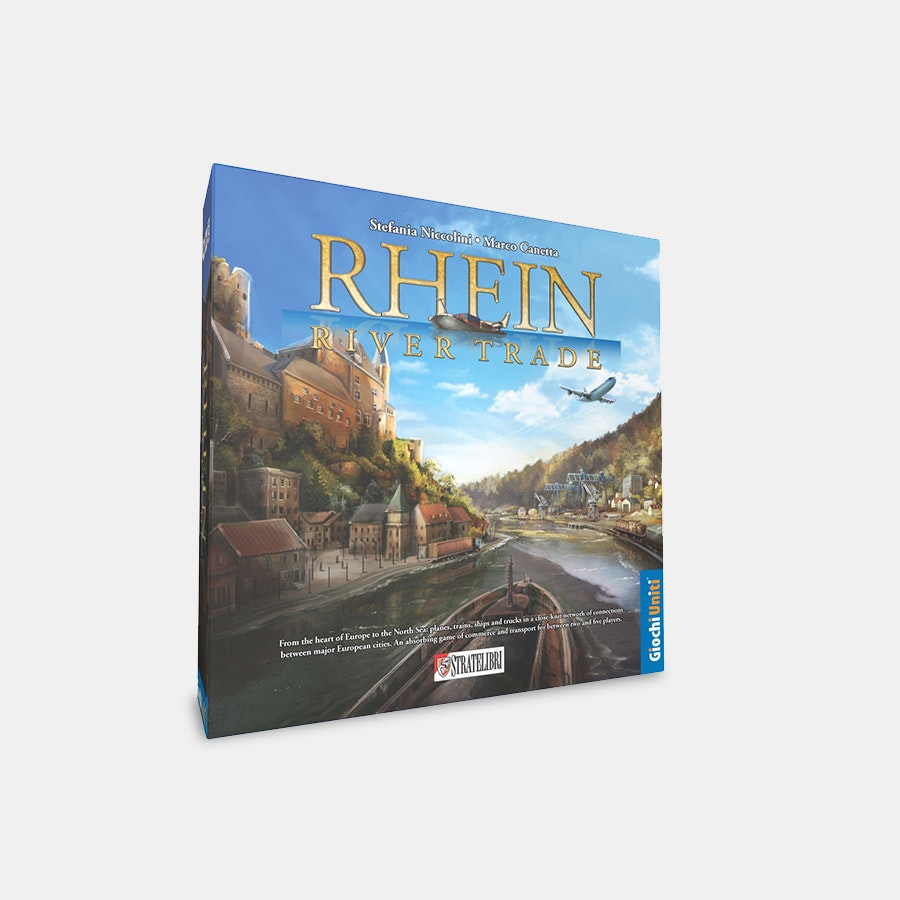 Rhein: River Trade Board Game